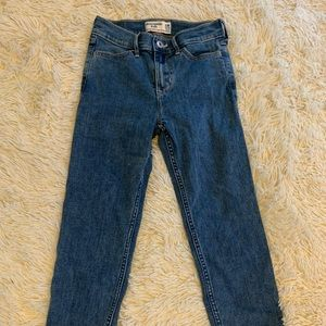 Abercrombie kids high rise skinny jeans